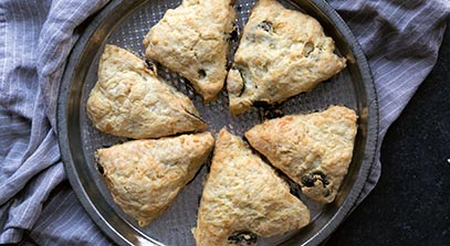 Cherry Cheese Scones