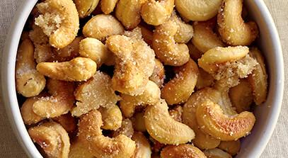 Cardamom Spiced Cashews