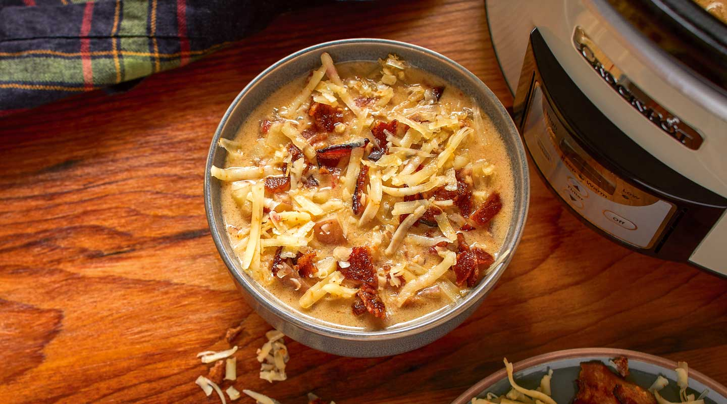 Slow-Cooker Potato Chowder