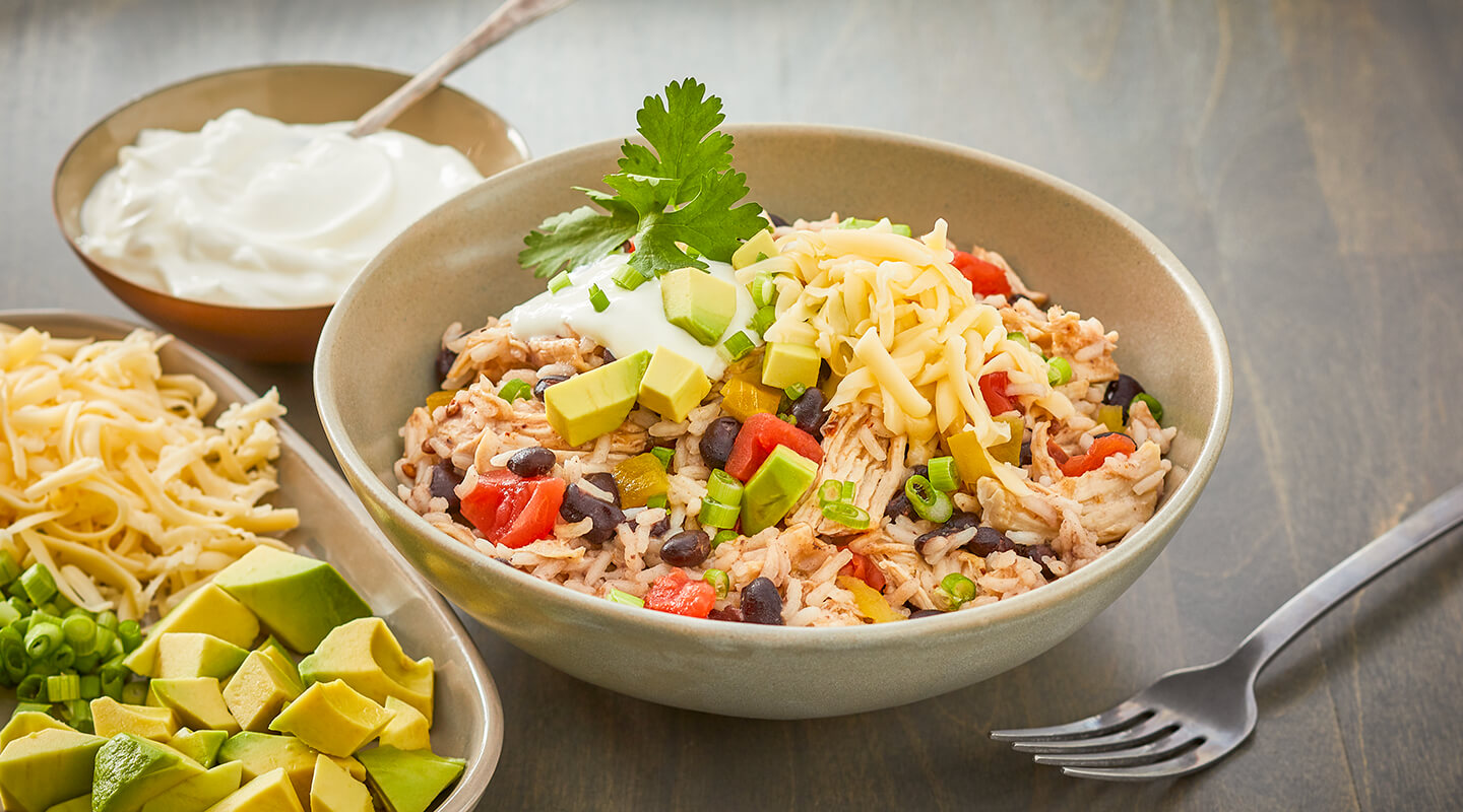 Wisconsin Cheese Instant Pot® Mexican Chicken and Rice recipe