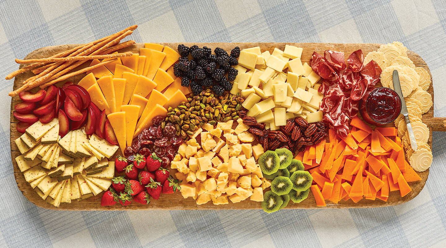 Wisconsin Cheese Summertime Cheeseboard Recipe
