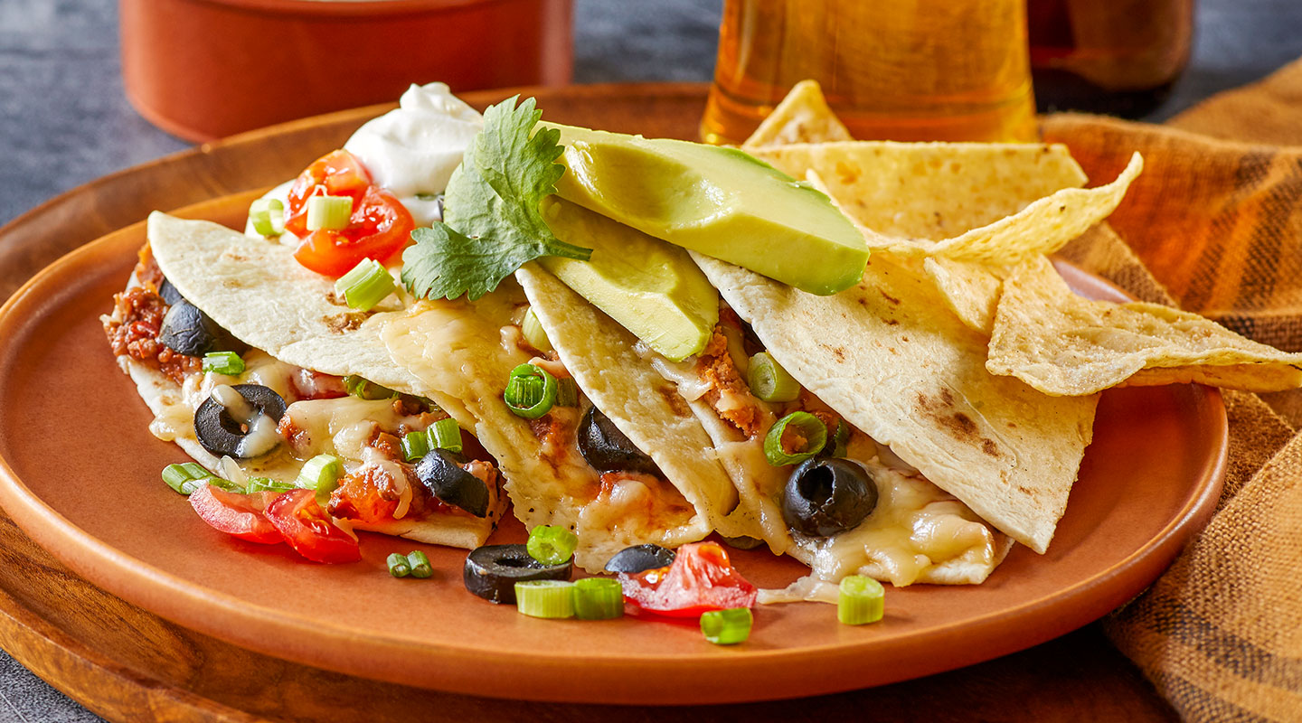 Wisconsin Cheese Best Beef and Cheese Quesadillas recipe