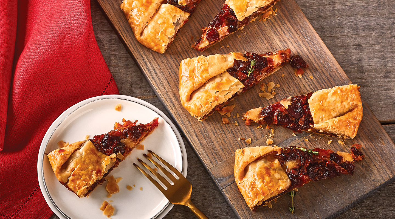 Wisconsin Cheese Brandied Cranberry-Havarti Galette Recipe
