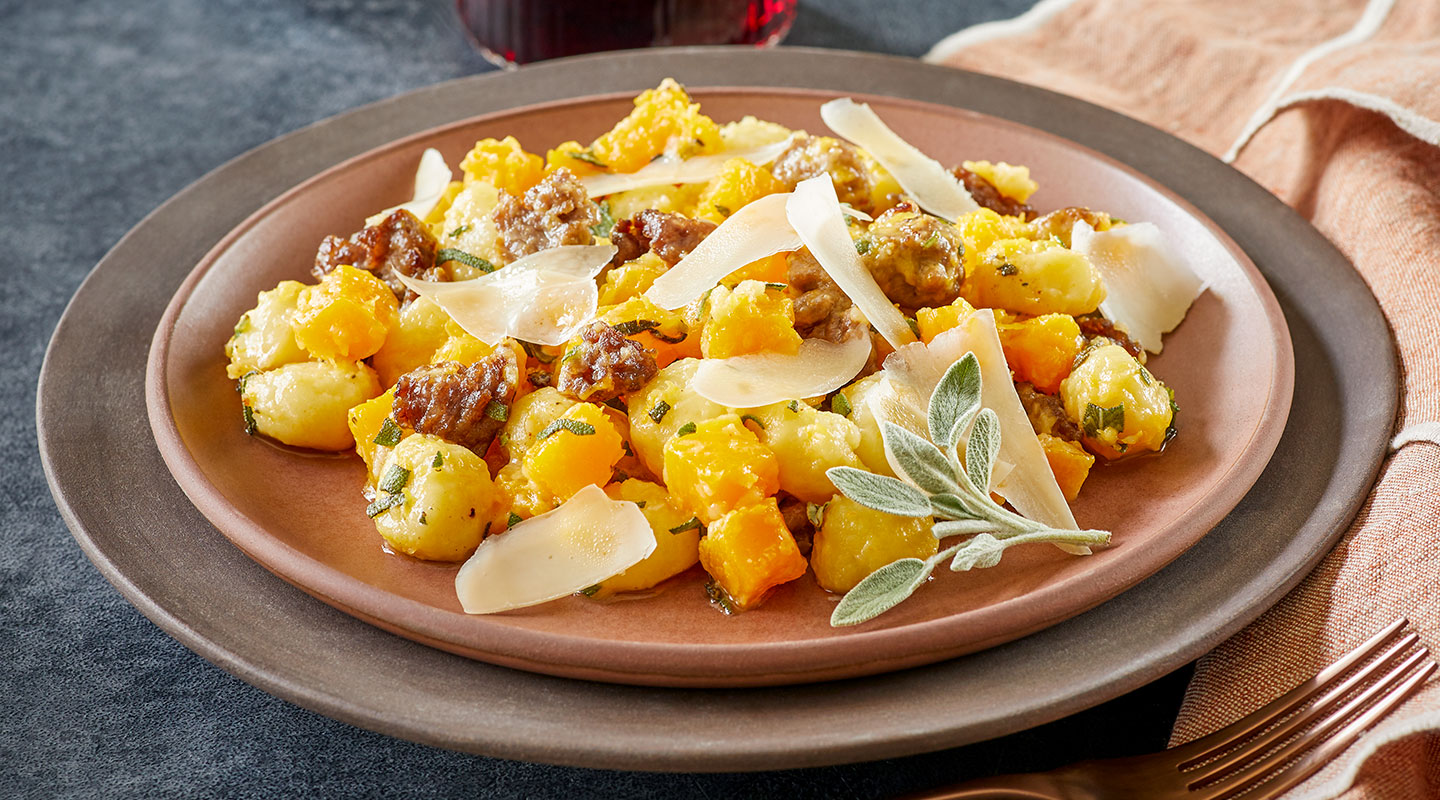 Brown Butter Gnocchi with Asiago