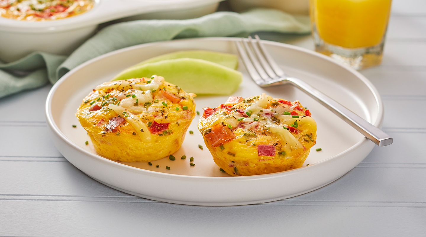 Wisconsin Cheese Cheddar-Bacon Breakfast Egg Cups   Recipe