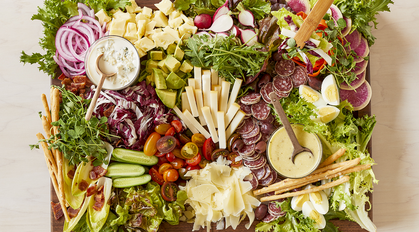 Chef Salad Cheese Board