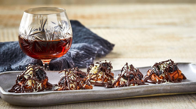 Chocolate-Parmesan Pecan Clusters