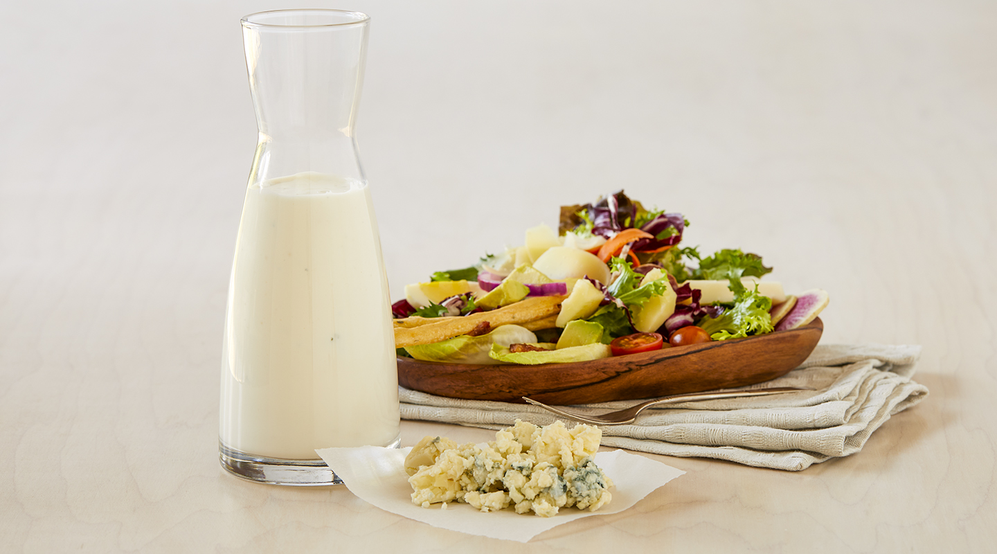 Wisconsin Cheese Creamy Buttermilk Blue Cheese Dressing  Recipe