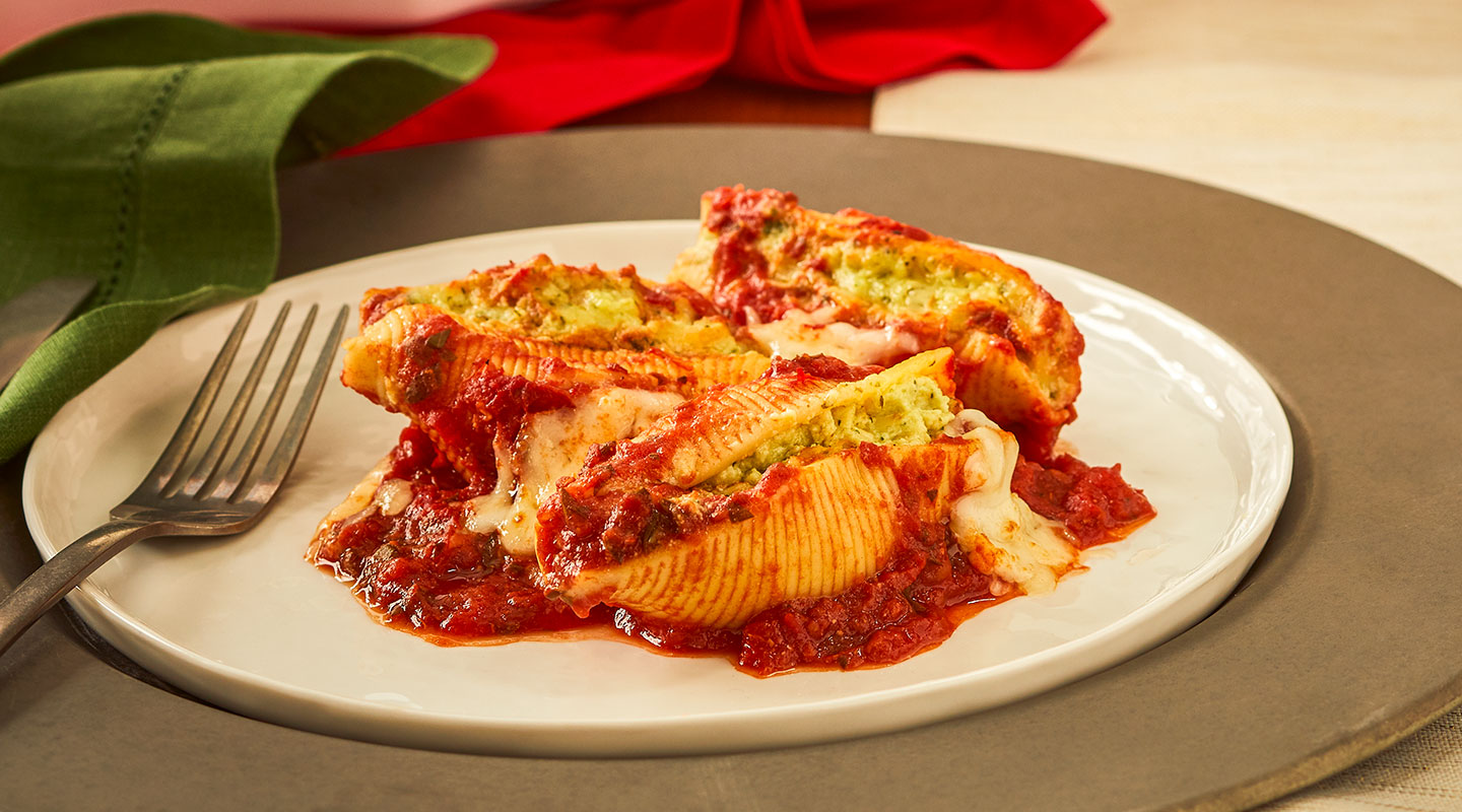 Wisconsin Cheese Creamy Provolone Stuffed Shells Recipe