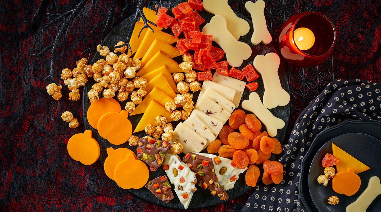 Wisconsin Cheese Easy Halloween Cheese Board Recipe