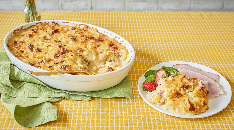 Wisconsin Cheese Gouda-Bacon Potato Bake Recipe