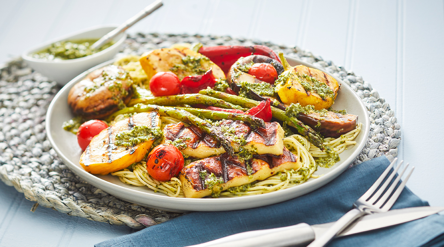 Wisconsin Cheese Grilled Vegetables and Juustoleipa Dinner     Recipe