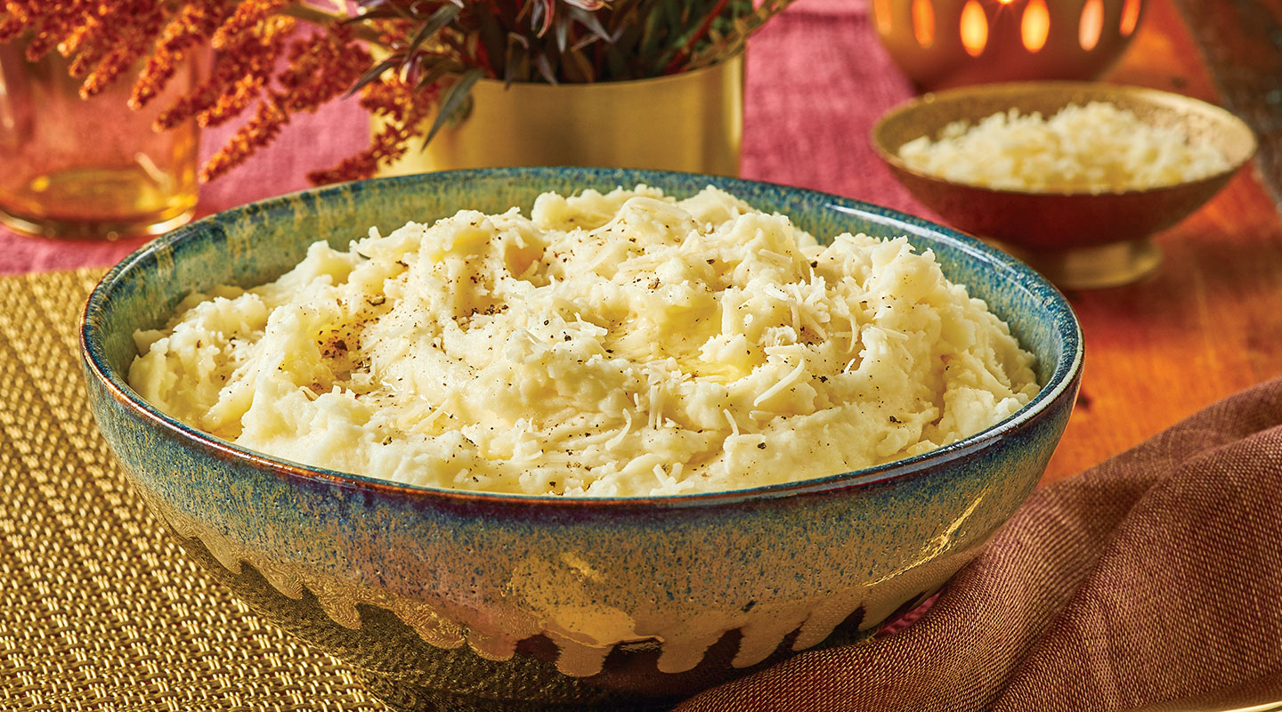 Wisconsin Cheese Instant Pot® Mashed Potatoes Recipe
