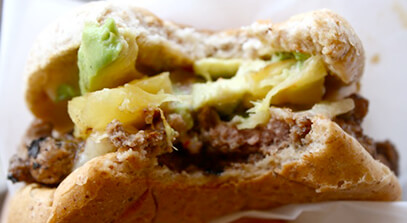 sweet and spicy jalapeno cheddar stuffed cheeseburgers