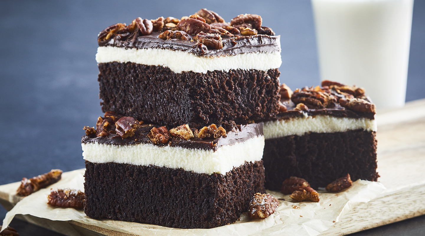 Wisconsin Cheese Mexican Hot Chocolate Brownies   Recipe