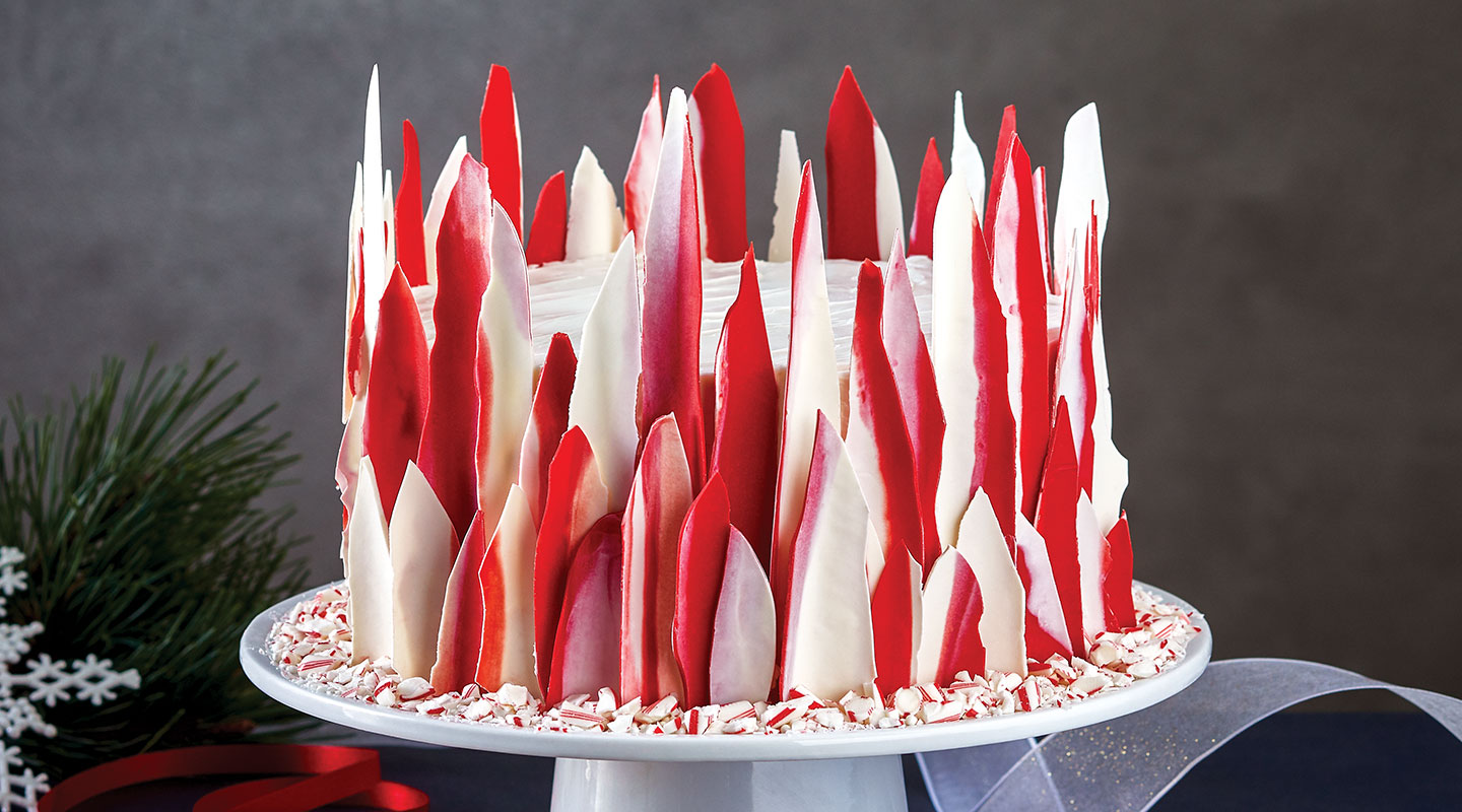 Wisconsin Cheese Peppermint Holiday Cake Recipe