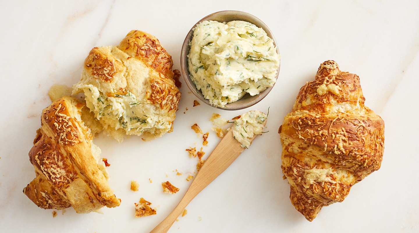 Wisconsin Cheese Savory Cheese and Herb Butter  Recipe