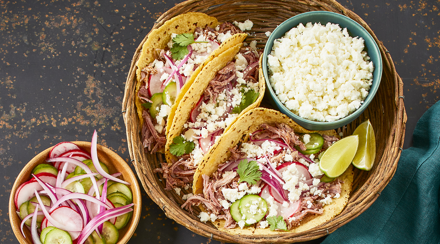 Slow-Cooked Pulled Pork Tacos