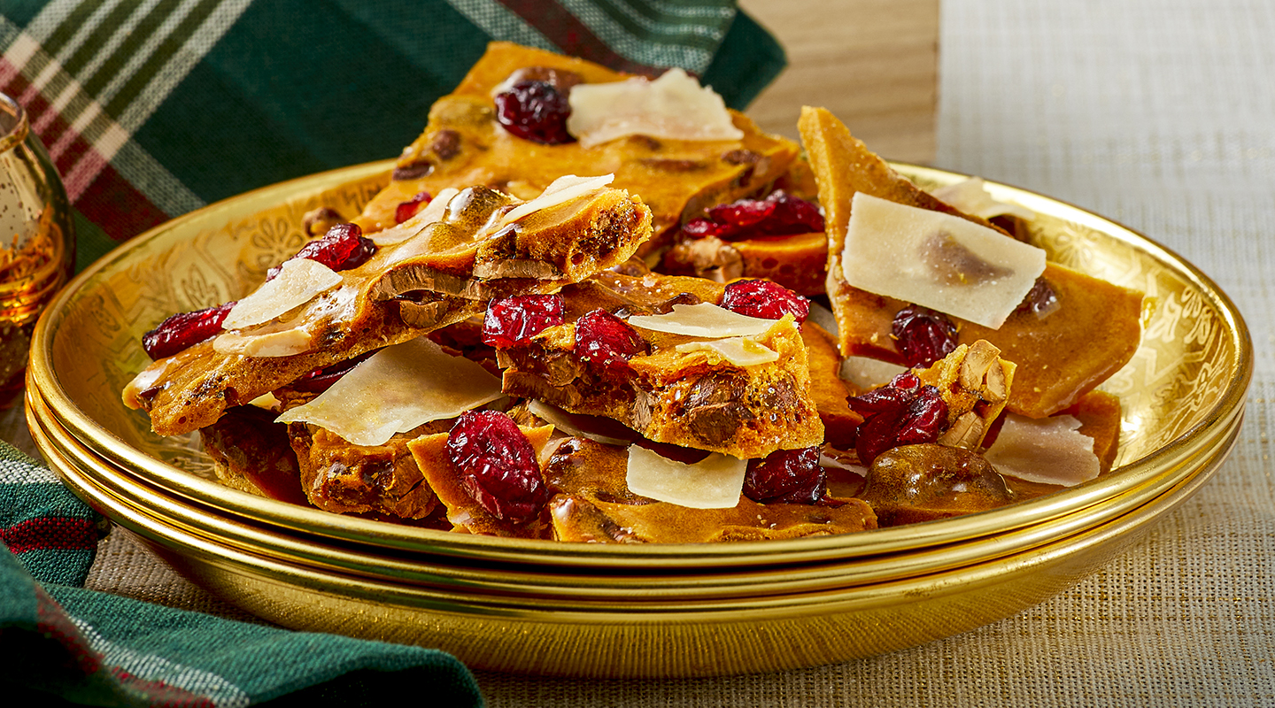 Wisconsin Cheese Sweet and Salty Cashew Brittle Recipe