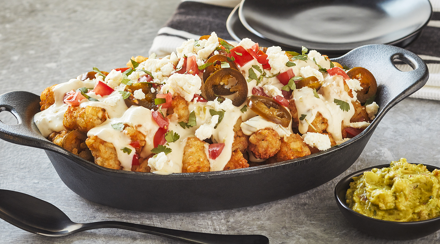 Wisconsin Cheese Tater Tot Nachos (Tatchos) with Queso Cheese  Recipe