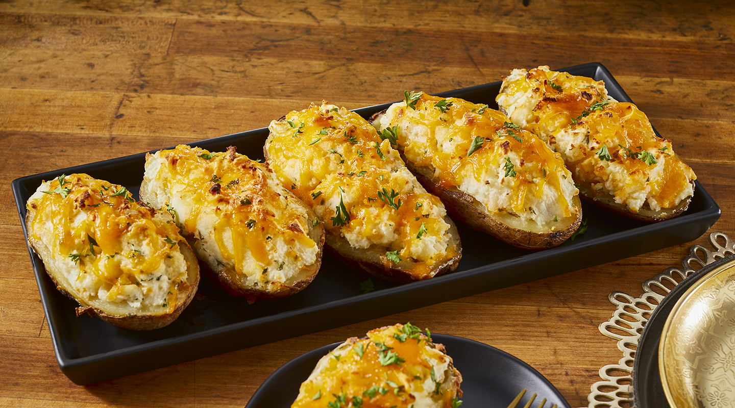 Wisconsin Cheese Ultimate Twice-Baked Potatoes Recipe